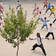 Tai Chi from the sky