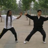 Tai Chi with my teacher