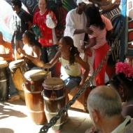 Drums on Callejon de Hamel