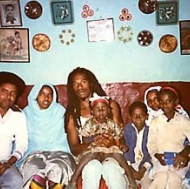 My friends and I in Ethiopia