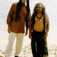 Sadhu in Kanya Kumari