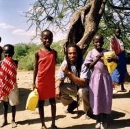 Some Massai kids of kenya