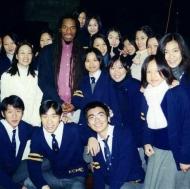 In school in Korea