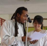 Performing a poem together