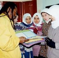 A Palestinian scrap book.