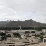 A view of Lhasa